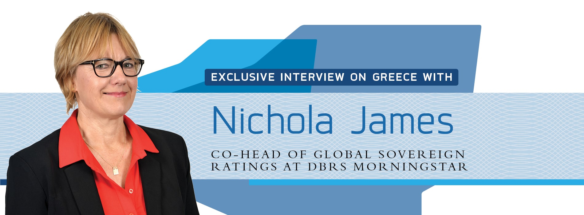 Interview on Greece with Nichola James from DBRS Morningstar