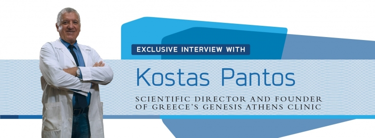 Interview with Kostas Pantos,Director of Greece's Genesis Athens Clinic