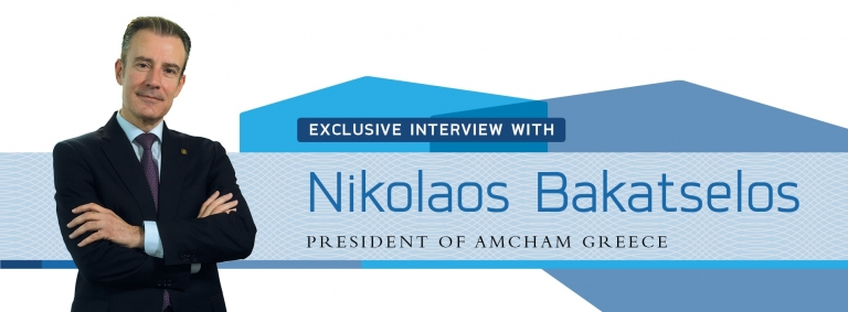 Interview with Nikolaos Bakatselos,President of AmCham Greece