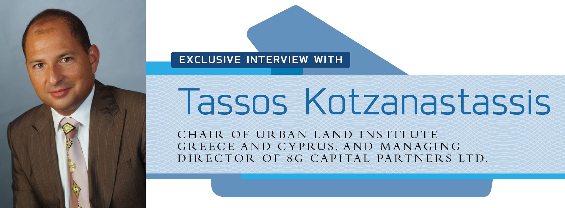 Interview with Tassos Kotzanastassis of the Urban Land Institute Greece