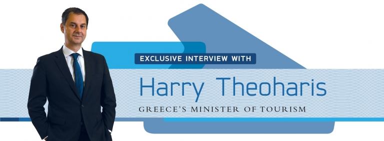 Interview with Harry Theoharis,Greece's Minister of Tourism