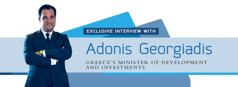 Interview with Adonis Georgiadis,Greece's Minister of Development
