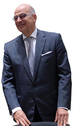 Nikos Dendias Minister of Foreign Affairs
