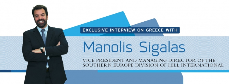 Interview on Greece with Manolis Sigalas of Hill International