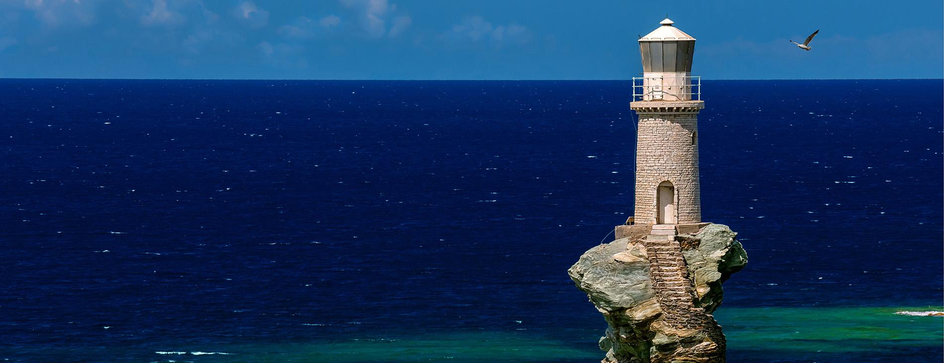 Lighthouse photo by Lemonakis Antonis