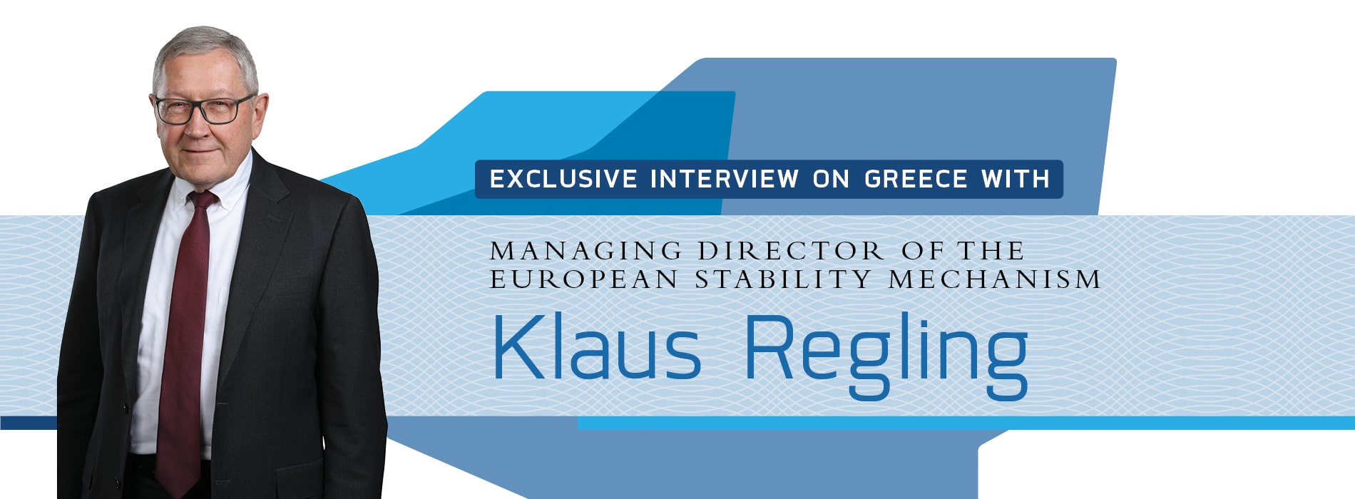 Interview with Klaus Regling of the European Stability Mechanism