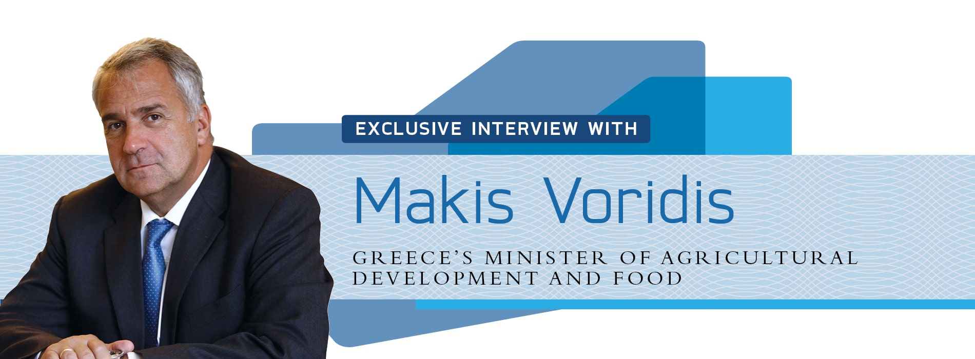 Interview with Makis Voridis,Greece's Minister of Agricultural Development
