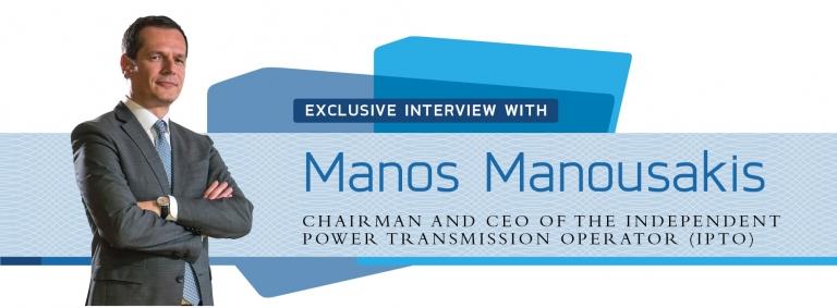 Interview with Manos Manousakis,CEO of IPTO on Greece's energy sector