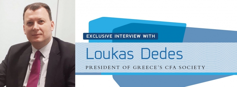Interview with Loukas Dedes,President of Greece's CFA Society