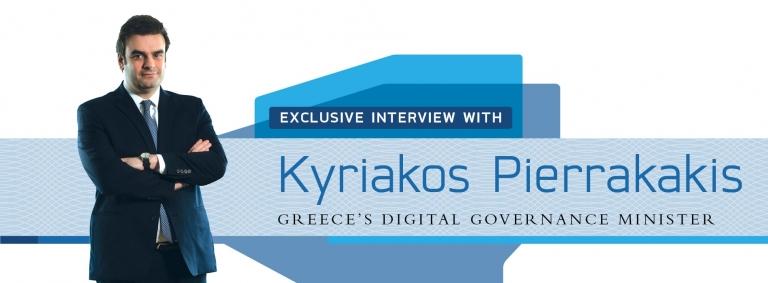 Interview with Kyriakos Pierrakakis,Greece's Digital Governance Minister