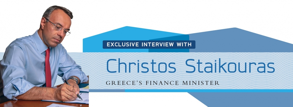 Interview with Christos Staikouras,Greece's Finance Minister