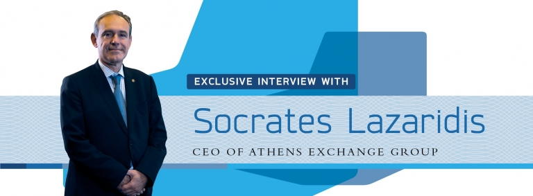 Interview with Socrates Lazaridis,CEO of Greece's ATHEX