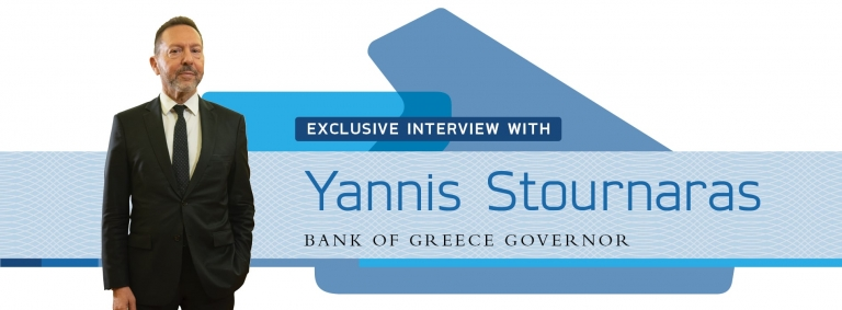 Interview with Yannis Stournaras,Bank of Greece Governor