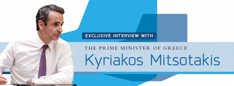 Interview with Kyriakos Mitsotakis,Prime Minister of Greece