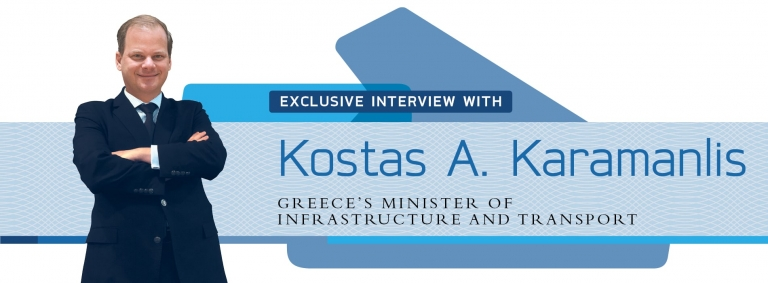 Interview with Kostas Karamanlis on Greece's infrastructure and transport