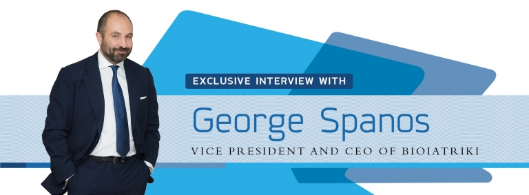 Interview on healthcare with George Spanos,CEO of Greece's Bioiatriki